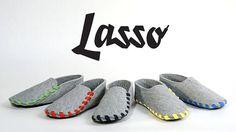 Gaspard Tiné-Berès & Ruben Valensi sont très fiers de vous annoncer que les chaussons Lasso sont disponibles en pré-vente sur la plateforme de collecte de fonds : Kickstarter. Lasso est un chausson à confectionner soi-même, produit à partir d'une pièce unique de feutre de laine, d'une semelle en cuir et d'un lacet en coton. Le concept est très simple, le chausson est livré à plat, avec un lacet disponible en 5 coloris. Il est fabriqué en France dans un ESAT ( Établissements e...