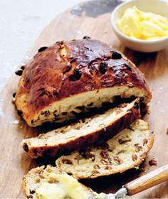 Rozijnenbrood + een dikke laag boter + chocomelk = summum!