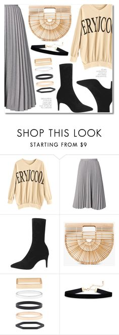 """""""4 Simple and stylish"""" by laurafox27 ❤ liked on Polyvore featuring Cult Gaia and Accessorize"""