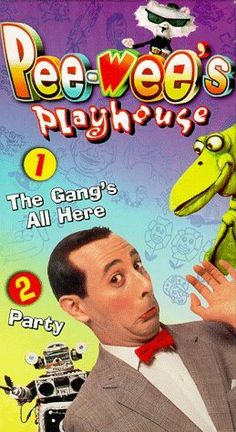Pee-wee's Playhouse  - 1986 - Pee-Wee Herman and his friends have wacky, imaginative fun in his unique playhouse.