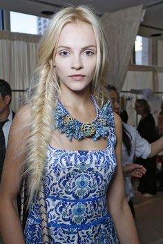 Ginta Lapina at Tory Burch Spring / Summer 2013