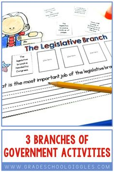 Can your students name the three branches of the government? Are you looking for a project to tie all of the content together? I love how this mini book explains the functions and roles of the executive, legislative, and judicial branches. It makes teaching the 3 branches to elementary kids so much easier. It even covers the separation of powers. The activities in this booklet are great for kids in the 2nd or 3rd grade. Plus, the tic tac toe review game is more engaging than a plain…