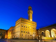 A popular meeting place for Florentines and tourists, the Piazza Della Signoria is a square located in front of the Palazzo Vecchio, Florence's town hall.