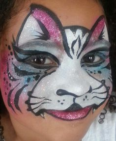 Face Painting Cat Inspired by Mark Reid
