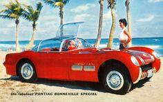 1954 Pontiac Bonneville Special Concept Illustration