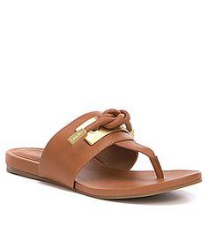 Calvin Klein Parson Thong Sandals #Dillards