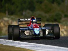 Ivan Capelli (1993) by F1-history.deviantart.com on @deviantART