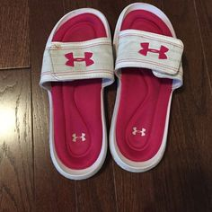 Under armor slip ons Small stains and signs of use / still good condition Under Armour Shoes Athletic Shoes