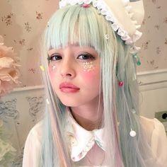 She looks so cute, like a little fairy elf child.
