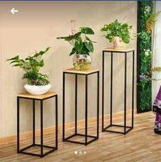 32 Ideas for home decoration accessories interiors Steel Furniture, Diy Furniture, Furniture Design, House Plants Decor, Plant Decor, Home Interior Design, Interior Decorating, Interior Shop, Simple Interior