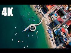 Puerto Vallarta desde el aire - 4K - YouTube