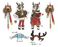 ラストピリオド公式 (@last_period) 的媒体推文 / Twitter Character Sheet, Character Concept, Character Art, Concept Art, Chibi Characters, Fantasy Characters, Christmas Characters, Witch Art, Character Design References