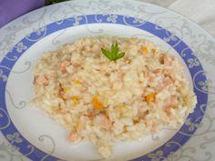 Risotto con pompelmo e salmone | Cucinare Meglio