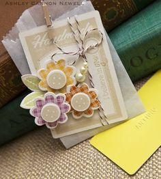 Gift bag set by Ashley Cannon Newell (January 2012).