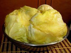 Gyergyói Ízőrző: Káposztasózás télire Kefir, Mashed Potatoes, Side Dishes, Cabbage, Cancer, Meals, Vegetables, Cooking, Ethnic Recipes