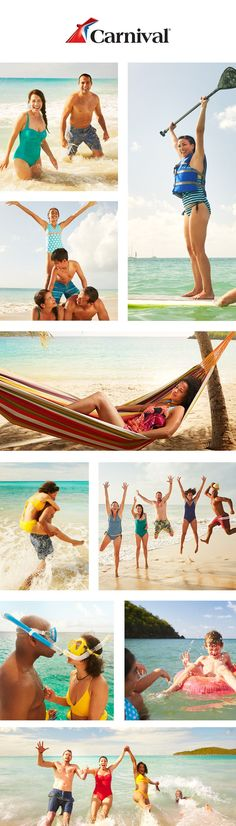 More sunshine, more sand in your suitcase, more fun in your life. Plan your ultimate beach vacation at carnival.com.