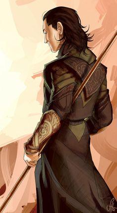 Loki by arok318. Lookit his little face!