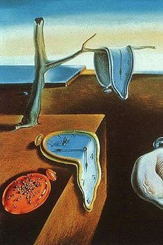 Surrealism: Persistence of Memory, by Salvador Dali.