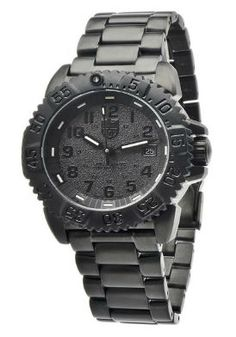 Shop for Luminox Men's Navy SEAL Colormark Quartz Movement With Rubber Band and Stainless Steel Band Black Watch. Get free delivery On EVERYTHING* Overstock - Your Online Watches Store! Stylish Watches, Luxury Watches For Men, Cool Watches, Wrist Watches, Best Military Watch, Watch Sale, Watches Online, Sport Watches, Casio Watch