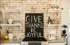 give thanks be joyful