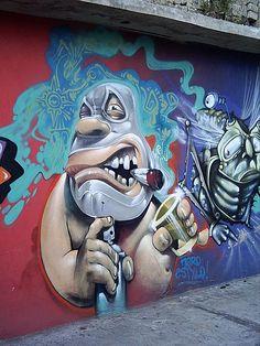 Graffiti Art: Waiting for Public and Official Acknowledgement graffiti Street Art Murals Street Art, 3d Street Art, Urban Street Art, Amazing Street Art, Street Art Graffiti, Street Artists, Urban Art, Urbane Kunst, Graffiti Artwork
