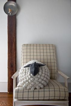 Free Pattern for our Bobble Sheep Pillow, Now in Gentle Giant! - screznik@gmail.com - Gmail