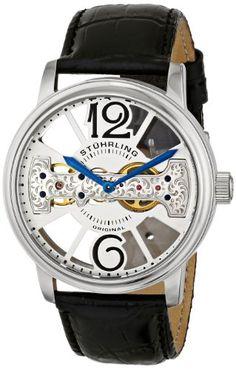 Stuhrling Original Men's 785.01 Classic Analog Display Mechanical Hand Wind Black Watch Stuhrling Original http://www.amazon.com/dp/B00FSD14YU/ref=cm_sw_r_pi_dp_2MrLtb1ADGC08CX0