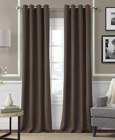"Elrene Essex Grommet 50"" x 95"" Panel - Window Treatments - For The Home - Macy's"