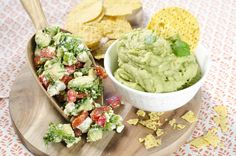 Guacamoler med tvist! Glad, Guacamole, Dip, Mexican, Ethnic Recipes, Cakes, Red Peppers, Salsa Music, Scan Bran Cake