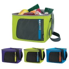 Ensure your brand is a household name by promoting with custom lunch coolers. Go to Staples Promotional Products to add your business name to these can coolers.