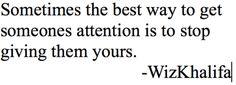 Deja de darle TU atención y tendrás SU atención!