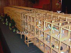 16 ft scale model of Noah's Ark
