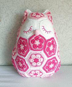 Tutorial #66 Paso a Paso Flores Africanas a Crochet ~ CTejidas [Crochet y Dos Agujas]