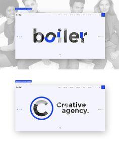 Boiler - Creative Agency PSD & HTML5 Template on Behance