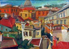 Renato Guttuso - Urban Landscape