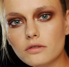Makeup at Haider Ackermann Spring/Summer 2012.