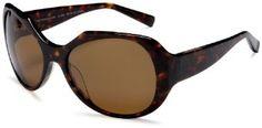 Fabien Baron Women's FB004 Round Sunglasses,Dark Tortoise Frame/Polarized Brown Lens,one size Fabien Baron. $138.96