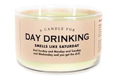 A Candle for Day Drinking - NEW