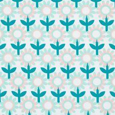 Tissu coton épais à fleurs Hilda - Nouveautés Maison - Nouveautés Mondial Tissus