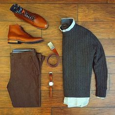 Awesome Autumn lay by: @chrismehan featuring @thursdayboots Follow for more: @votrends ✅