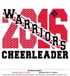 Cheerleading T-Shirt with Design T450