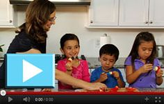 Making healthy, fun and tasty kabobs with kids!