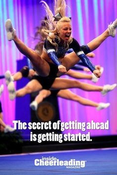 the inside cheerleading magazine has spoken! Cheer Jumps, Cheerleading Jumps, Cheerleading Quotes, Cheer Quotes, Cheer Stunts, Cheer Dance, Cheer Sayings, Softball Pictures, Cheer Pictures