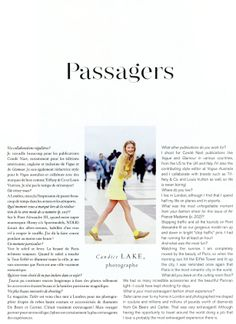 contributors page Air France Madame