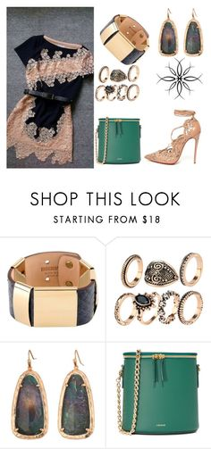 """Upstream...Downstream"" by maggiebell53 ❤ liked on Polyvore featuring Dsquared2, Kendra Scott and Cuero&Mør"