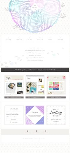 Web design inspiration.