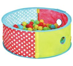 Buy Chad Valley Red Pop Up Ball Pit at Argos.co.uk, visit Argos.co.uk to shop online for Baby activity toys, Baby toys, Baby and nursery