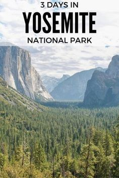 Enjoy the best of California with 3 days in Yosemite, a stunning National Park and World Heritage Site on the slopes of Sierra Nevada. Yosemite Park, Yosemite National Park, Yosemite Hiking, Yosemite Valley, Nationalparks Usa, Reisen In Die Usa, Places To Travel, Places To Visit, Utah