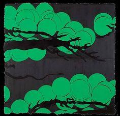 Donald Sultan: Japanese Pines April 27 2006