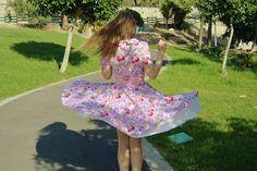 50s style Burda Style dress